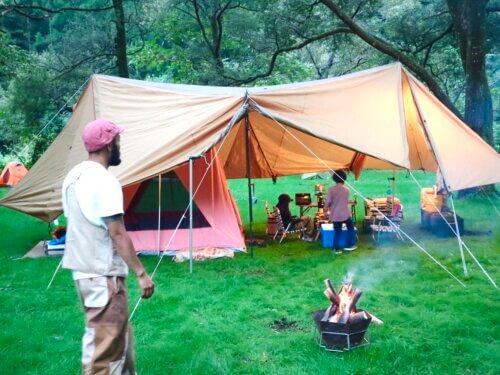 キャンプと焚き火